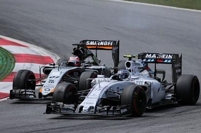 Williams: Valtteri Bottas's Austria brake issues 'reasonably big'