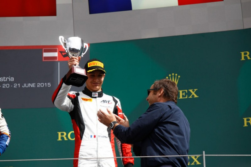 Red Bull Ring GP3: Esteban Ocon excluded from race two podium