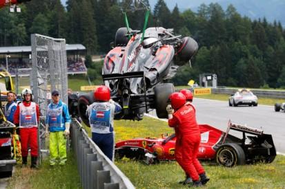 Austrian GP crash with Kimi Raikkonen 'strange' - Fernando Alonso