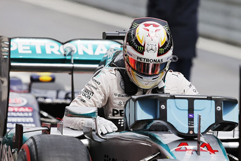 Austrian GP: Lewis Hamilton thought he'd lost F1 pole with spin