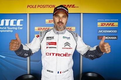 Slovakia WTCC: Yvan Muller beats Jose Maria Lopez to pole