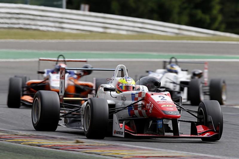 Spa European F3: Jake Dennis wins race marred by huge crashes