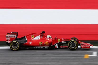 Austrian GP: Sebastian Vettel fastest in FP3 before rain hits
