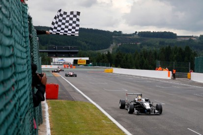 European F3 Spa: Charles Leclerc wins race one after rivals collide