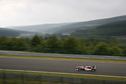 Spa European F3: Felix Rosenqvist leads strike-delayed practice