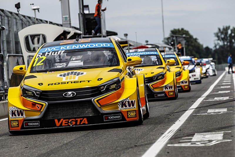 Slovakia Ring WTCC: Rob Huff fastest for Lada in testing