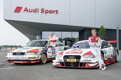 Audi gives Mattias Ekstrom retro DTM livery for Norisring