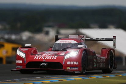 Nissan GT-R LM NISMO LMP1 ran without hybrid in Le Mans 24 Hours
