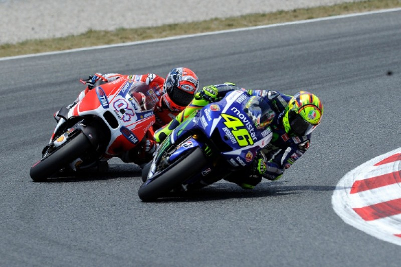 MotoGP tyre rule magnifies qualifying problems - Valentino Rossi
