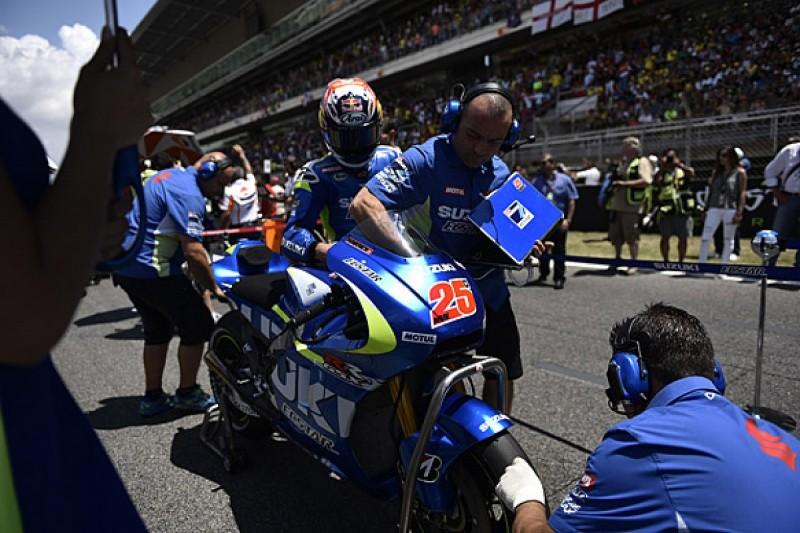 Suzuki MotoGP pair Espargaro and Vinales rue lack of seamless shift