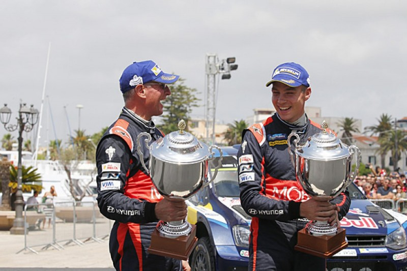 Hayden Paddon eyes Rally Australia for first WRC win after podium