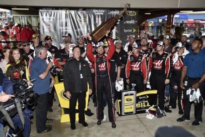 Michigan NASCAR: Stewart-Haas' Kurt Busch wins rain-shortened race