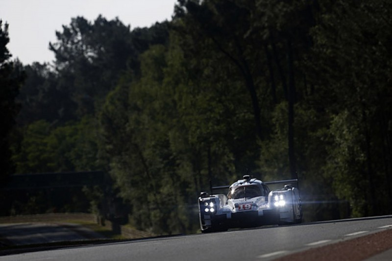 Le Mans 24 Hours: Nico Hulkenberg leads for Porsche amid safety car
