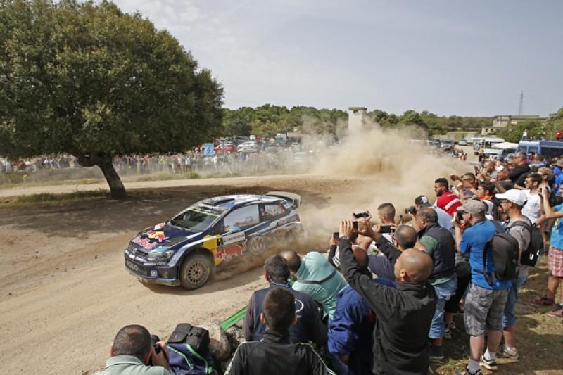 WRC Rally Italy: Volkswagen's Sebastien Ogier leads amid more drama