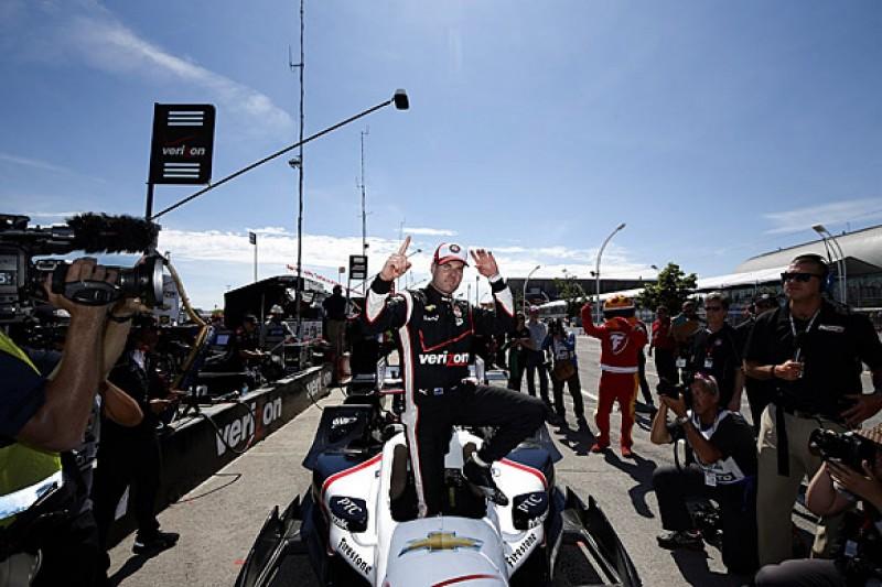 Toronto IndyCar: Power leads Pagenaud and Montoya in Penske sweep