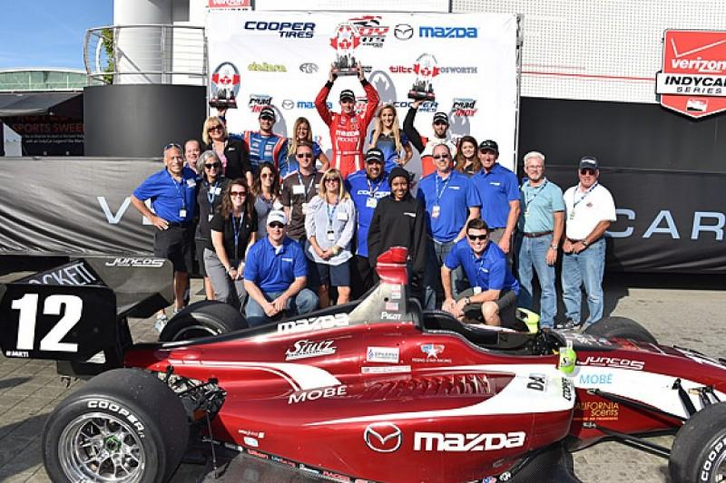 Indy Lights Toronto: Spencer Pigot wins, Nelson Piquet taken out