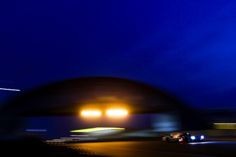 Le Mans 24 Hours: Porsche's Earl Bamber keeps Audi at bay