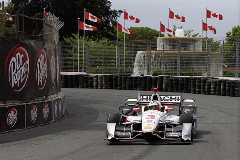 Toronto IndyCar: Castroneves outpaces Penske team-mate Montoya