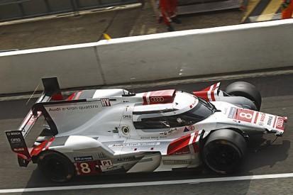 Le Mans 24 Hours: Porsche back in front as Audis hit trouble