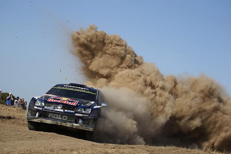 Rally Italy: Sebastien Ogier leads, Hayden Paddon hits trouble