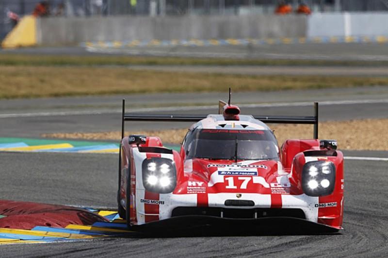 Le Mans 24 Hours: Porsche maintains lead through first hour