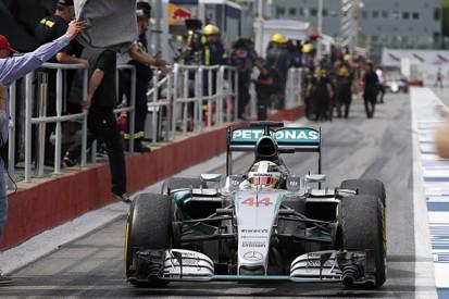 Lewis Hamilton more comfortable with 2015 Mercedes Formula 1 car