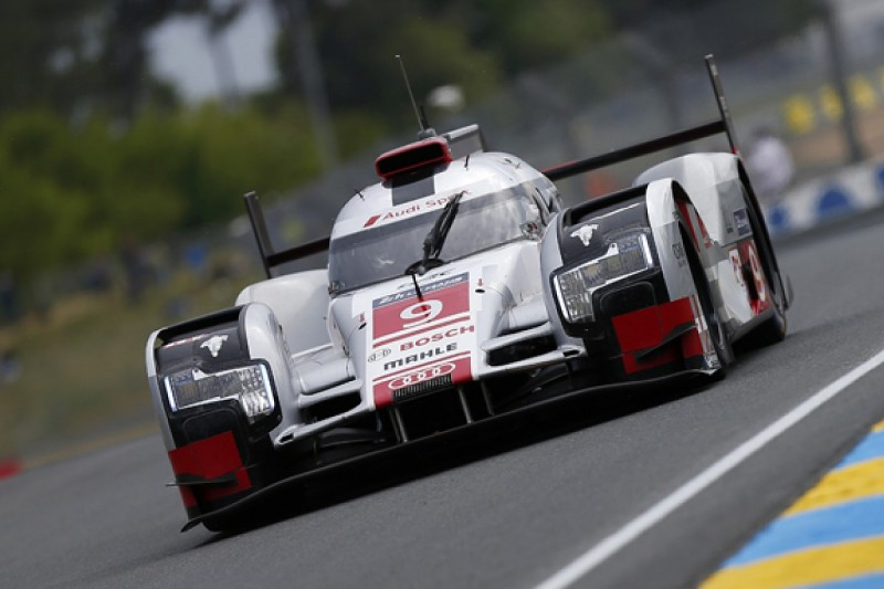 Filipe Albuquerque leads Audi 1-2-3 in Le Mans 24 Hour warm-up
