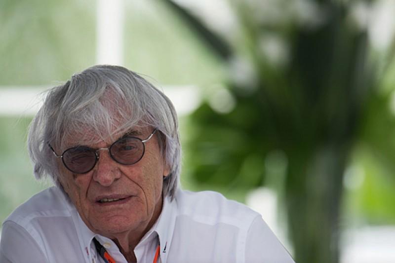 Bernie Ecclestone shrugs off prospect of EU probe into Formula 1