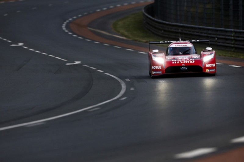Le Mans 24 Hour grid penalty for Nissan LMP1s