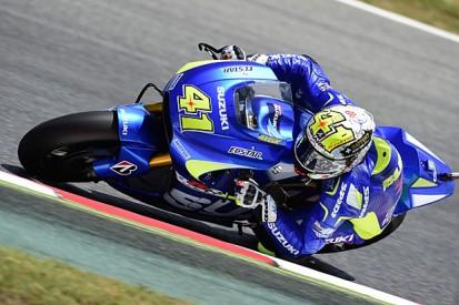 Barcelona MotoGP: Aleix Espargaro leads practice for Suzuki