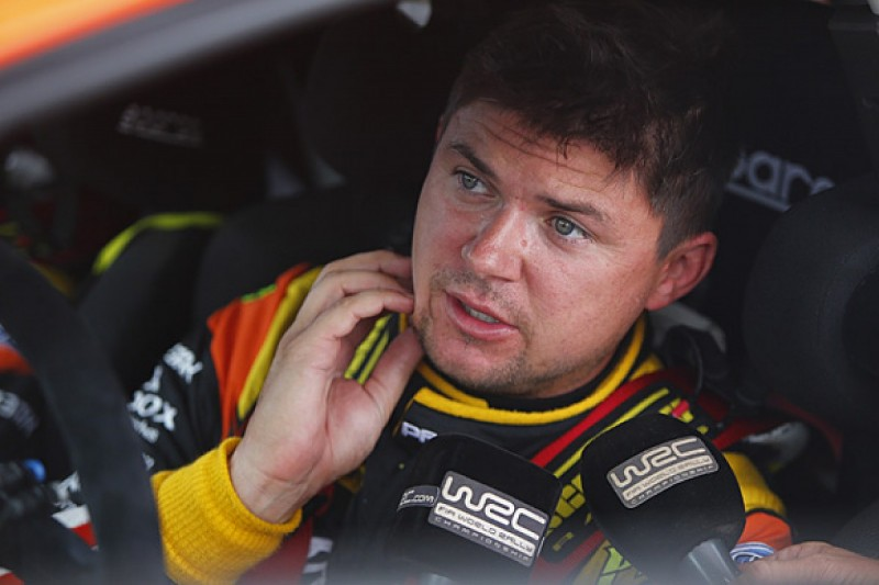 WRC Italy: Martin Prokop takes surprise lead after superspecial win