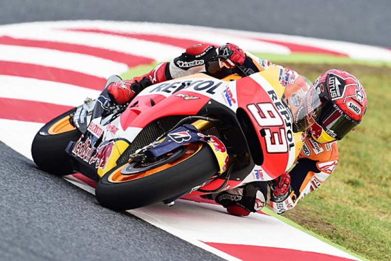 Barcelona MotoGP: Marquez and Pedrosa one-two for Honda in practice