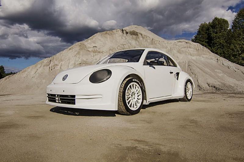 New Volkswagen Beetle for World Rallycross Championship with Eklund