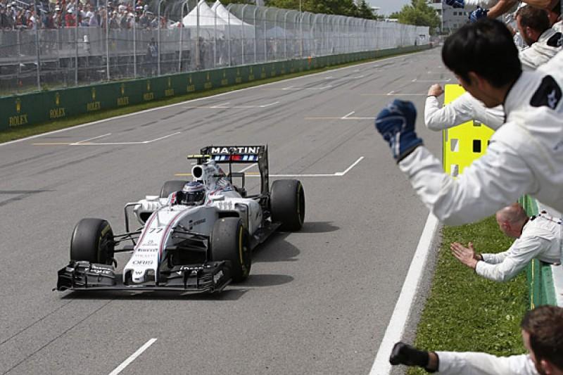 Williams F1 team's risky Canadian GP strategy paid off - Bottas