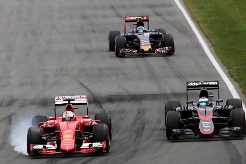 Canadian GP: Vettel 'should've been smarter' in Alonso battle