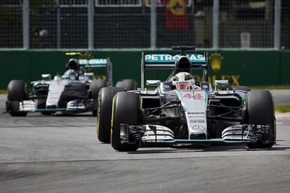 Mercedes faced Canadian GP dilemma over Hamilton/Rosberg brakes