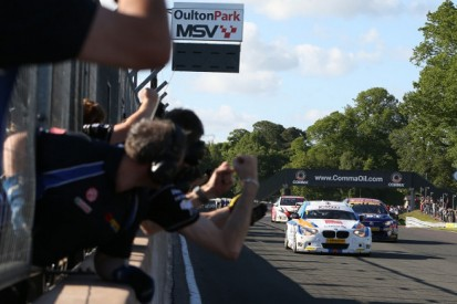Oulton Park BTCC: Sam Tordoff gets first WSR victory in race three