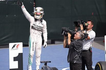 Canadian GP: Lewis Hamilton beats Mercedes team-mate Nico Rosberg