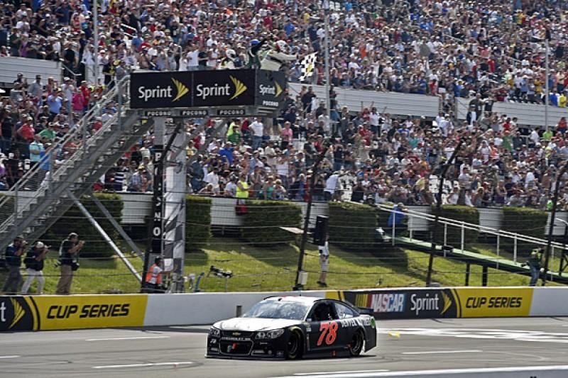Pocono NASCAR: Martin Truex Jr and Furniture Row finally win