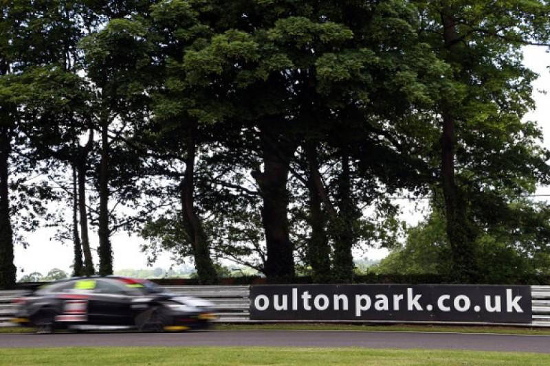 Oulton Park BTCC: Jason Plato tops three-way fight for pole