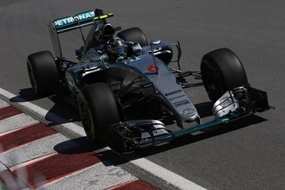 Canadian GP: Nico Rosberg's Mercedes fastest between red flags
