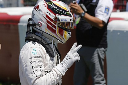 Canadian GP: Lewis Hamilton comfortably beats Nico Rosberg to pole