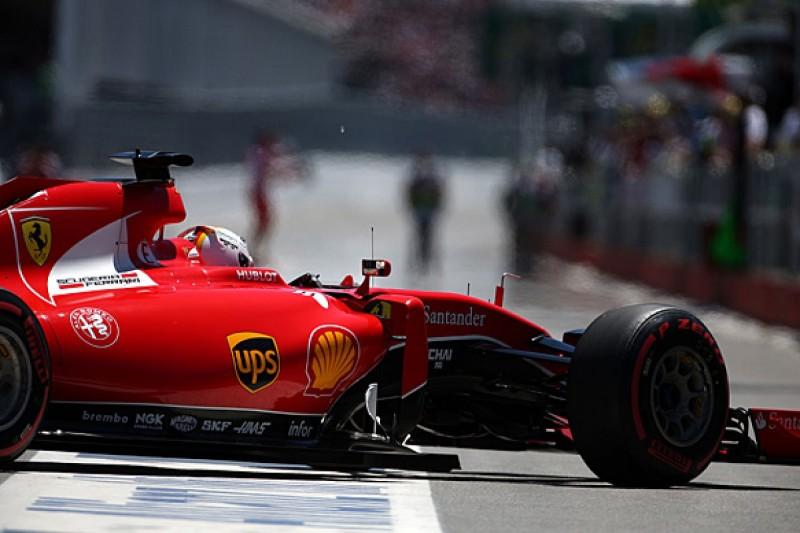 Canadian GP: Ferrari's Sebastian Vettel penalised for red flag pass