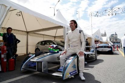IndyCar legend Dario Franchitti samples Formula E car in Moscow