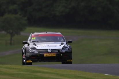 Oulton Park BTCC: Jason Plato tops both practice sessions