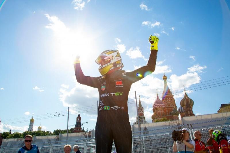 Moscow Formula E: Nelson Piquet Jr wins to extend points lead