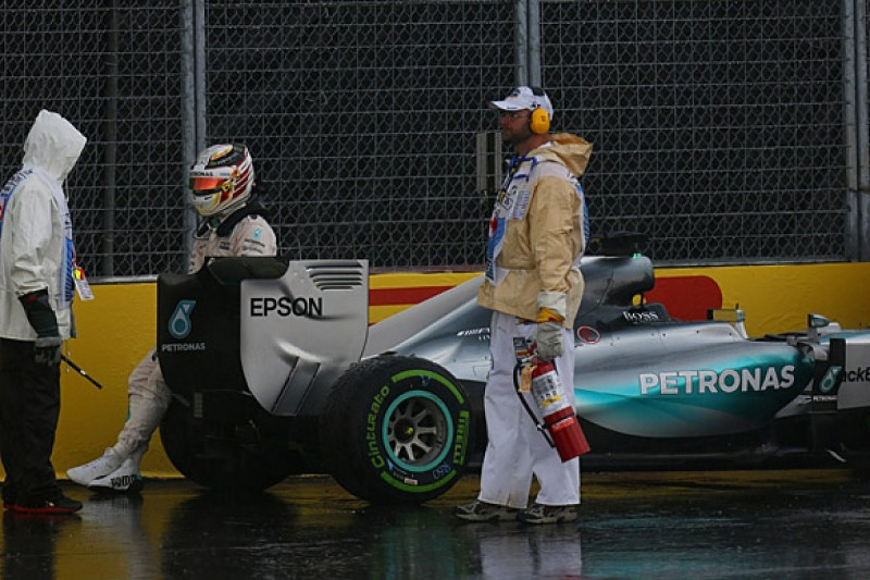 Canadian GP: Lewis Hamilton says Montreal practice crash his fault