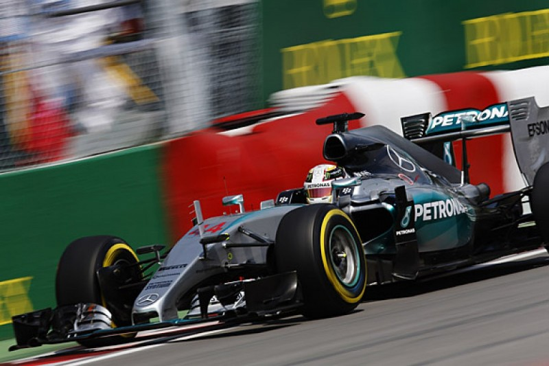 F1 Canadian GP: Lewis Hamilton leads practice as Mercedes dominates