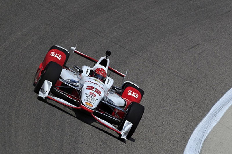 Texas IndyCar: Simon Pagenaud leads Penske one-two in practice