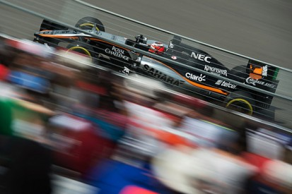 Revised Force India Formula 1 car passes crash test at second try